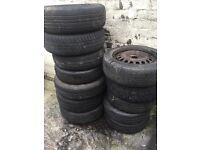 165/70/13 part worn tyres