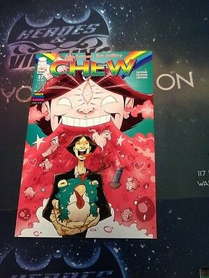 Chew  27  2012  Image Second Helping Variant Print Space Cakes Nm