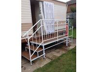INGOLDMELLS.... caravan to let ..HALF TERM
