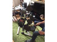 Yamaha 3 piece Electric Drum Kit. DTXPLORER model.