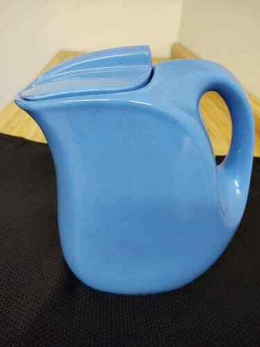 Hall china Montgomery Wards blue refrigerator pitcher