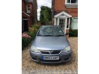 Vauxhall Corsa 1.4 Design16v Twinport silver with sun roof