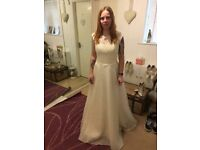 New wedding dress with tag