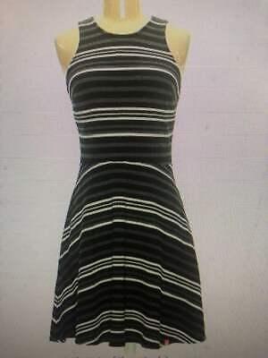 Super Dry Dress Black Grey White Size XS