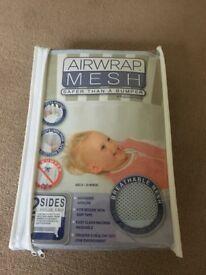 Airwrap Mesh 2 sided cot bumper