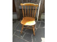 6 Farmhouse chairs for sale