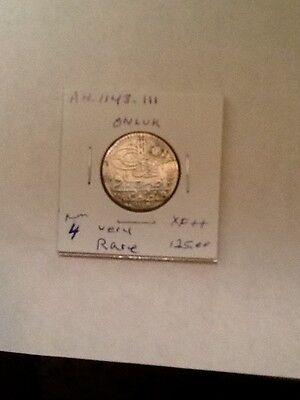 Turkey Ottoman Coin Sultan Mahmud-1. Ah-1143-Iii.  Onluk