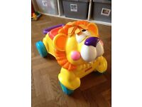 Fisher Price Walker / Ride-on with lion sound - excellent condition
