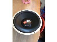 "Jbl 12"" 1000 watts sub speaker like new try before you buy £30"