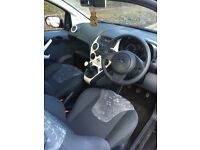Black Ford KA Edge 1.2 car