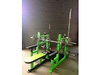 Heavy duty flat bench press gym equipment