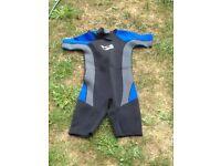 Wetsuit - adult size 38 shortie