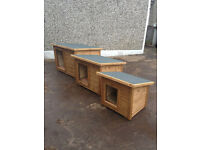 SMALL, MEDIUM AND LARGE DOG BOXES