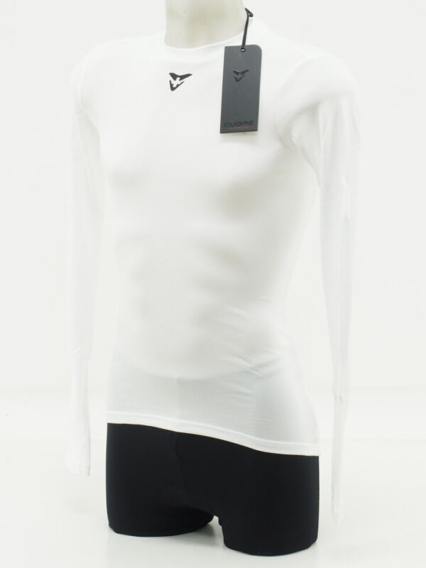 New! Cuore Unisex Cycling Long Sleeve Base Layer Small White