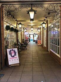 Unit to let. Castleton Walk Arcade. Mumbles