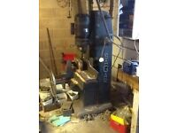Sagar hollow chisel morticing machine
