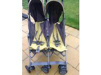 Mamas and papas Kato double buggy