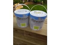 Wilkos Bathroom Paint x 2 - BRAND NEW