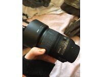 Nikon AF-S Micro NIKKOR 60mm f/2.8G ED Lens with HB-42 Lens Hood