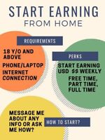 Work at home 400-600 USD