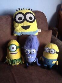 4 Despicable Me Toys