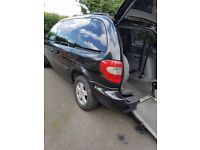 Chrysler voyager Wheelchair accessible vehicle