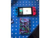 Nintendo Switch + game.