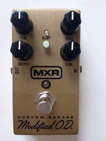 Dunlop MXR M77 Custom Badass Modified OD pedal