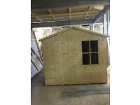 Bespoke made to measure shed