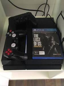500GB PS4 Console with 2 dual shock controllers + 8 games Summer Hill Ashfield Area Preview