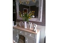 Beautiful Country Chic SOLID PINE Kennel style Sideboard F&B EX COND