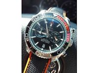 Mens Planet ocean watch omega tag