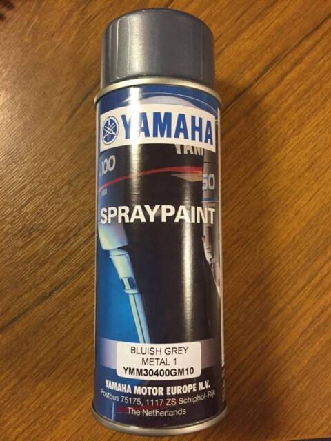 2 X Genuine Yamaha Outboard 30 Thru 350hp Paint Bluish