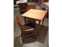 Used 25 Tables and 40 Chairs still in good condition. At £15/chair and £25/table