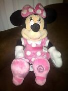 Disney Store Minnie Plush
