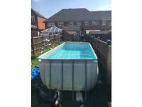 12ft by 6ft swimming pool