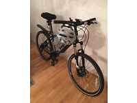 TREK 4300 mountain bike size 17.5 year 2013, very good state and accessories