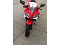 yamaha yzf r125 r 125 cbr 125 cbr125 rs 125 rs125 px welcome can deliver