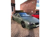 FOR SALE BMW 645ci CONVERTABLE 54 PLATE