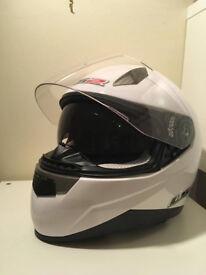 2011 LS2 Motorbike Helmet Large White