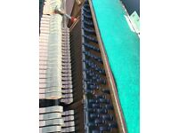 Kawai K20 upright piano black case. Belfast pianos.