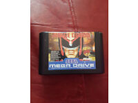 Judge Dredd Sega Megadrive Cartridge only