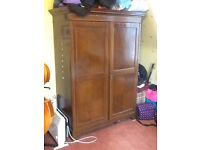 Antique Wardrobe with Internal Drawer