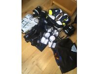 COMPLETE ICE HOCKEY KIT INCLUDING SKATES AND STICK