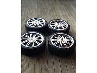 "For sale 19"" alloy wheels,vw,audi,mercedes"