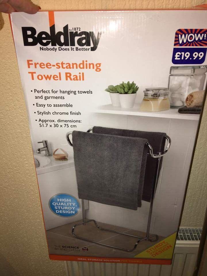 Towel rail new in box