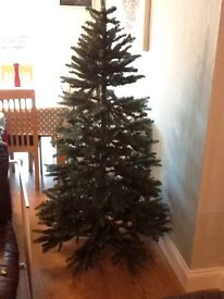 Christmas Tree (6ft Pine Natural Look Artificial Tree)