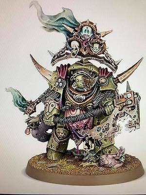 Warhammer 40,000 Chaos Space Marines Death Guard Lord of Contagion