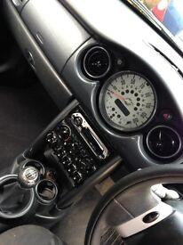 Mini Cooper 2003. Needs a new clutch