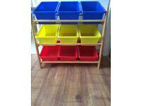 Children's toy storage unit.
